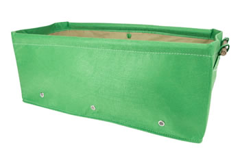 Image of BloemBagz Raised Bed Planter Green 45L Fabric Growbag