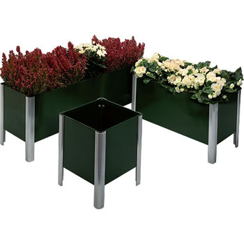 Image of Two Tier Everlasting Planter 91cm - Green