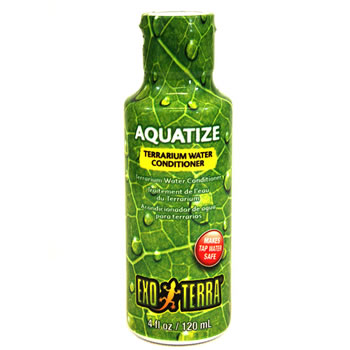 Image of Exo Terra Aquatize Terrarium Water Conditioner 120ml