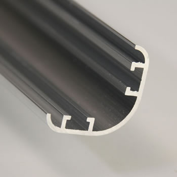 Image of Pack of 10 - Aluminium Extrusion Corner Section 250cm long