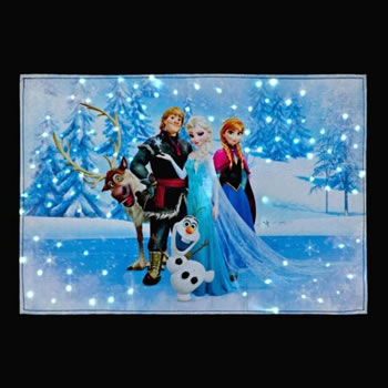 Image of SnowTime Disney's Frozen Tapestry - Olaf Dancing (FB00680)
