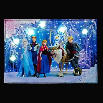 Image of SnowTime Disney's Frozen Tapestry - Olaf Riding on Sven (FB00681)