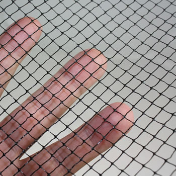 Image of Standard Vegetable Cage 122cm high x 244cm wide x 914cm long with Butterfly Netting