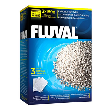 Image of Fluval Ammonia Remover 3 x 180g