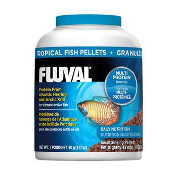 Image of Fluval Tropical 1mm Sinking Pellets 90g