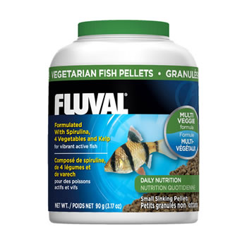Image of Fluval Vegetable Sinking Pellets 90g