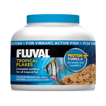 Image of Fluval Tropical Flakes 18g