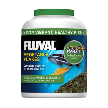 Image of Fluval Vegetable Flakes 32g