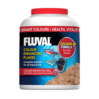 Image of Fluval Colour Enhancing Flakes 32g