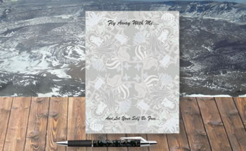 Image of Fly Away With Me Note Pad