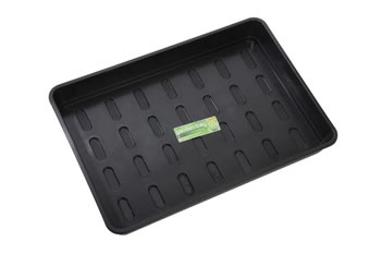 Image of 2 x Garland XL Seed Tray Black without Holes