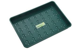 Image of 6 x Garland XL Seed Trays Green with Holes