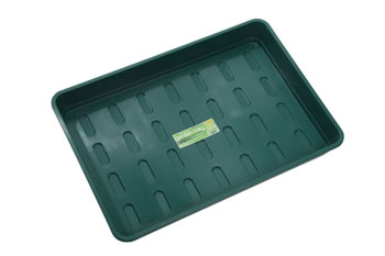 Image of 5 x Garland XL Seed Trays Green without Holes