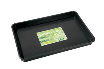 Image of 3 x Garland Standard Garden Tray Black 9 litres, various quantities