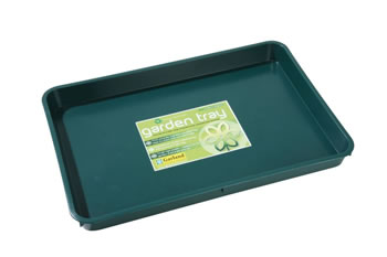 Image of 5 x Garland Standard Garden Tray Green 9 litres, various quantities