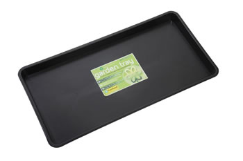 Image of 4 x Garland Maxi Garden Tray Black 12 litres, various quantities