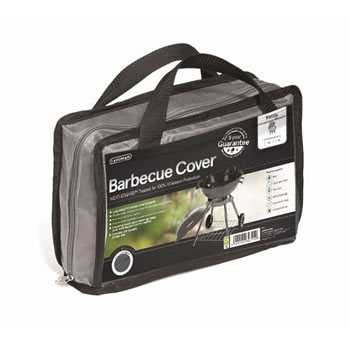 Image of Gardman Premium Kettle Barbecue Cover - Grey (35970)