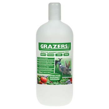 Image of Grazers G1 Rabbits, Pigeons and Deer Repellent 750ml Concentrate