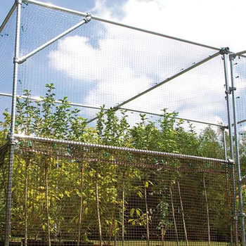 Image of Heavy Duty Fruit Cage Waist Rail