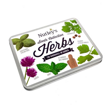 Image of Nutley's Herb Seeds Collection Gift Tin