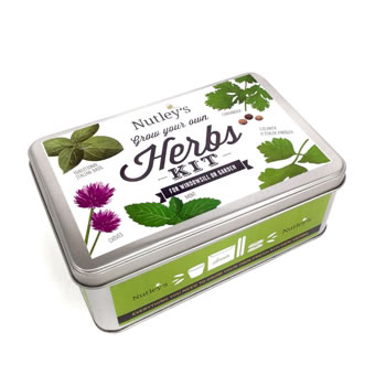 Image of Nutley's Grow Your Own Herbs Kit Gift Tin