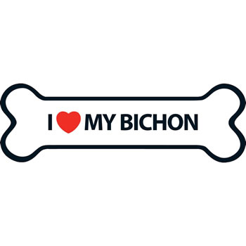 Image of I Love My Bichon Magnet