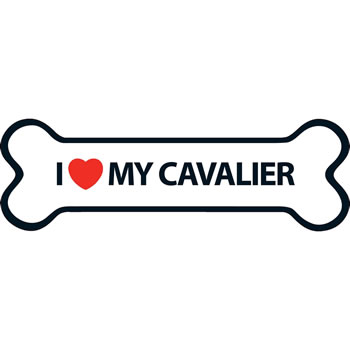 Image of I Love My Cavalier Magnet