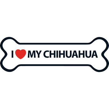 Image of I Love My Chihuahua Magnet