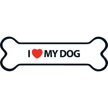 Image of I Love My Dog Magnet