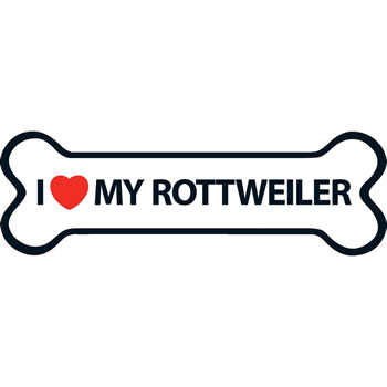 Image of I Love My Rottweiler Magnet