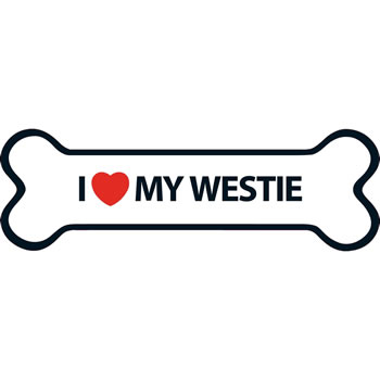 Image of I Love My Westie Magnet