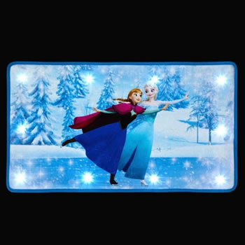 Image of SnowTime Disney's Frozen Doormat - Elsa and Anna Skating (IF02088)
