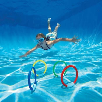 Image of Intex Underwater Swimming Pool Fun Rings (55501)