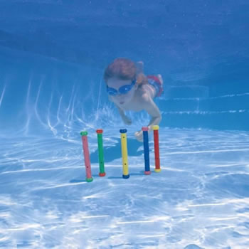 Image of Intex Underwater Swimming Pool Play Sticks (55504)