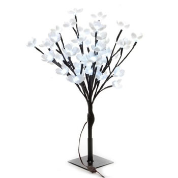 Image of Lumineo Cool White LED Outdoor Blossom Tree - 120cm (497927)