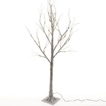 Image of Lumineo Green/Warm White LED Sugar Finish Tree - 160cm (499016)