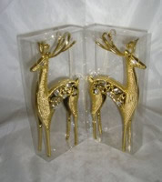 Small Image of Gold Reindeers