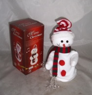 Small Image of Dancing Snowman