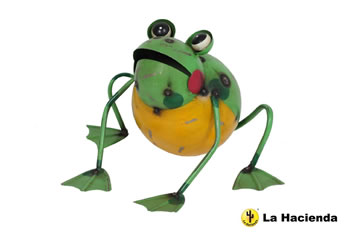 Image of Frankie The Frog Ornament by La Hacienda
