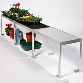 Image of Compact Greenhouse Benching - 2.25m long x 25cm wide x 53cm high