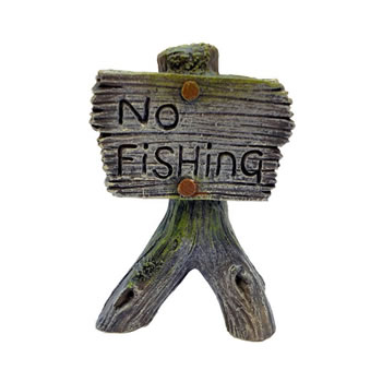 Image of Betta No Fishing Sign