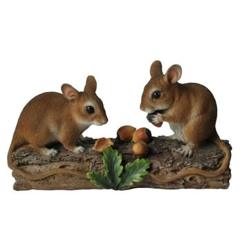 Image of Vivid Arts Natures' Friends Dormice Feeding NF-DM03-D