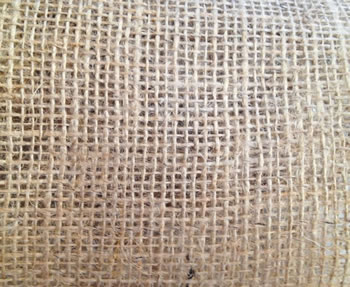 Image of 5m Nutley's 7oz Hessian Jute Sacking Fabric Material - 137cm
