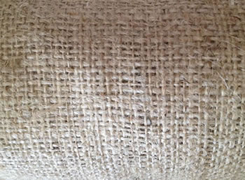 Image of 10m x 1.83m Nutleys Hessian Fabric 197 x 72