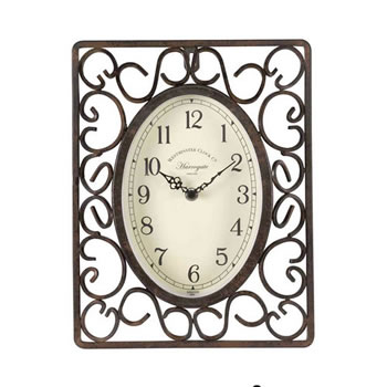 Image of Outdoor Harrogate Wall Clock