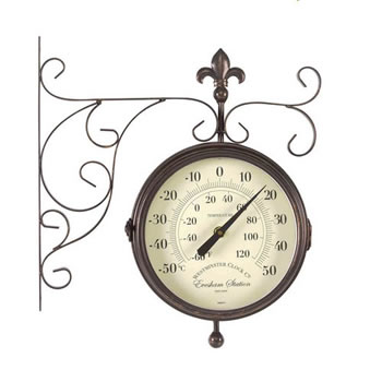 Image of Double-sided Marylebone Station Clock