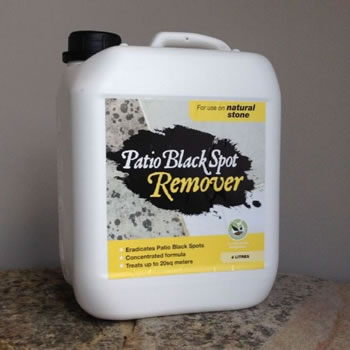 Image of Patio Black Spot Remover for Natural Stone - 2 Litres