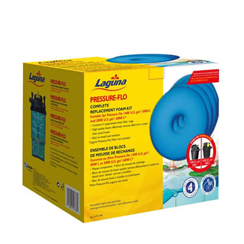 Image of Laguna Pressure Flo 6000 Replacement Foam (4pk)