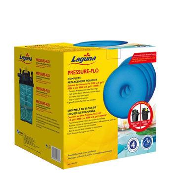 Image of Laguna Pressure Flo 10000 Replacement Foam (4pk)