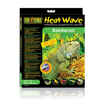 Image of Exo Terra Forest Heat Wave Heat Mat Medium